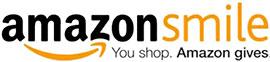 AmazonSmile logo with tag 'You Shop. Amazon gives.'