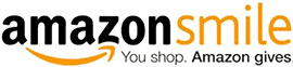 AmazonSmile logo with tag 'You Shop. Amazon gives.'